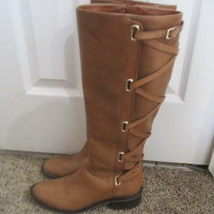 Genuine tall leather boots BCBGeneration 6 1/2